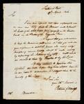 Handwritten copy of request by Return J. Meigs to Mr. John Browder