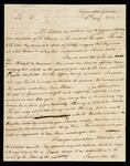 A letter from Return J. Meigs to John Browder
