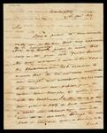 Letter from P. W. Humphrey to Charles Cassady reporting on affairs with the Chickasaw and Creek