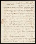 Letter from M.W. Orr to her parents, Jonah and Sarah Washburn