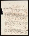 Letter from John Ross to John Howard Payne