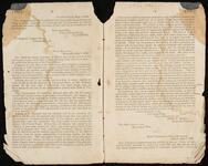 Printed Text of Letter Regarding Preparations for Placing Troops in Cherokee Nation