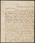 Letter from Chief John Ross to Araminta A. Ross