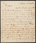 Letter from John M. Ross in Baltimore