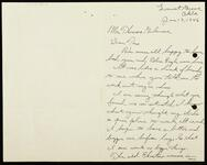 Letter from Stone to Gilcrease describing background on a work of an old Choctaw woman