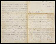 Letter and envelope from Leigh to his mother back in the Academy studying under Loefftz and continuing account of Easter trip