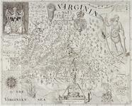 Early map of the colony of Virginia