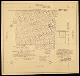 Map showing government survey of Tulsa, Indian Territory in January 1898