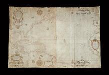 Carta Nautica del Mar Costas y Islas y Indias Occidentales