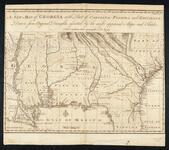 A New Map of Georgia with Part of Carolina, Florida, and Louisiana