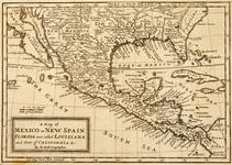 Map of Mexico or New Spain, Florida