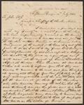 Letter from Thomas Fox Taylor to Chief John Ross
