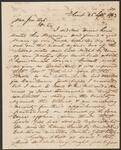 Letter from William Shorey Coodey to Chief John Ross