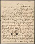 Letter from Lewis Ross to Chief John Ross