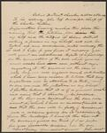 Letter from John West to Chief John Ross
