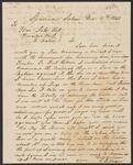 Letter from Thomas L. Rogers to Chief John Ross