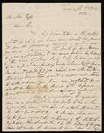 Letter from John Ridge to Chief John Ross