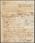 Draft Copy of Letter from Chief John Ross to Colonel Thomas L. McKinney