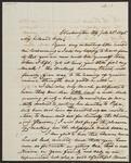 Letter from Chief John Ross to Mary B. Stapler