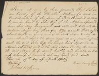 Bill of Sale of Negro Boy by Susan Coodey to Chief John Ross