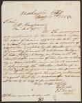 Letter from Elijah Hicks to George H. Manypenny