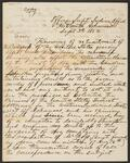 Copy of Letter from Superintendent C. W. Dean to George Butler