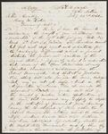 Copy of Letter from Chief John Ross to Arkansas Governor Henry M. Rector