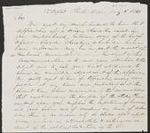 Letter from Chief John Ross and Joseph Vann to Captain John Drew