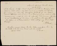 Certification by W. Reid concerning Atawe