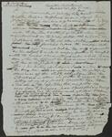 Draft Copy of Letter from Chief John Ross to Colonel William Weer