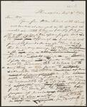 Draft Copy of Letter from Chief John Ross to William Ross