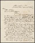 Letter from Chief John Ross to Commissioner of Indian Affairs William P. Dole