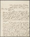 Letter from Colonel William A. Phillips to Secretary of the Interior