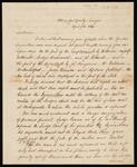 Letter from Edward Hardin, Esquire to Chief John Ross