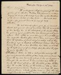 Draft of Letters from Cherokee Delegation to Seneca Delegation