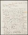 Draft Copy of Letter from Chief John Ross to Commissioner of Indian Affairs William  P. Dole