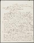 Draft Copy of Letter from Chief John Ross to Nanson, Dameron & Company