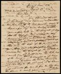 Draft Copy of Letter from Chief John Ross to William H. Underwood, Esquire