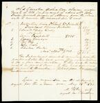 Fragment of a list of old Cherokee spoliation claims for which John Drew held powers of attorney