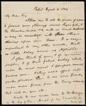 Letter from the Commissioner of Indian Affairs Thomas L. McKenney to Chief John Ross