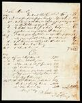 Account statement of John Drew and J.T. Craig and Company for clothing, hardware and sundries
