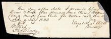 Promissory note from Elizabeth M. Elliott to Drew and Fields