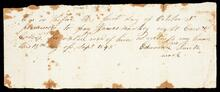 Promissory note from Edward Smith to James Mackey