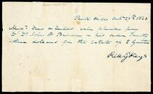 Bill from Dr. John F. Brown to Drew and Fields