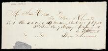 Promissory note from John Drew to Shaw and Leonard