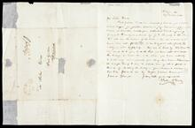 Letter from John F. Darby to John Drew transmitting George H. Kennedy note