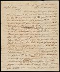 Draft Copy of Letter from Chief John Ross to John Ridge