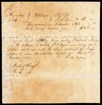 Account of J. M. Bryan with Richard Ratliff sworn before Circuit Judge Riley Keys