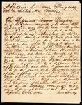 Deposition of James Douglas concerning the sinking of the steamboat Logansport