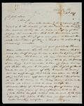 Letter from J. Bryan in Washington City to John Drew regarding claims